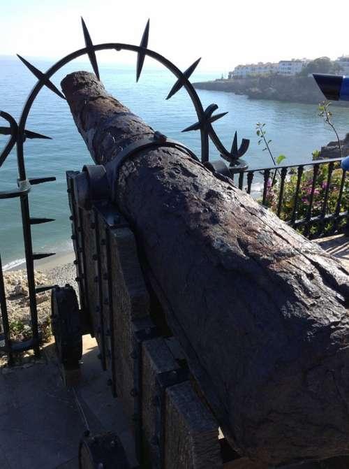 Cannon Old Cannon Vintage Artillery Battle Gun