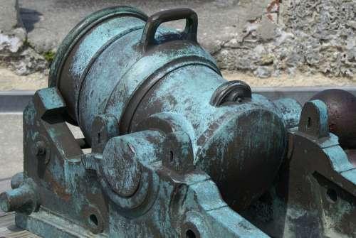 Cannon St Augustine Fort Florida Monument Landmark