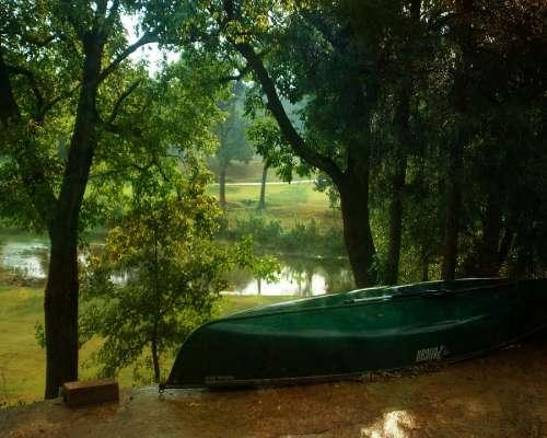 Canoe River Sport Nature Leisure Outdoors