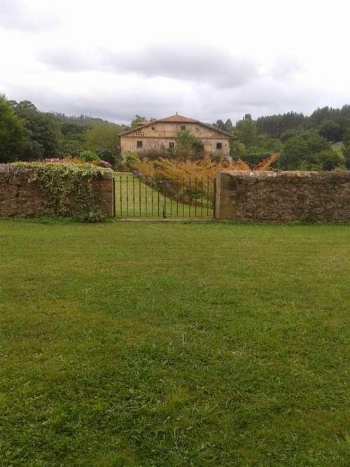 Cantabria Green Landscape House Spain Meadows