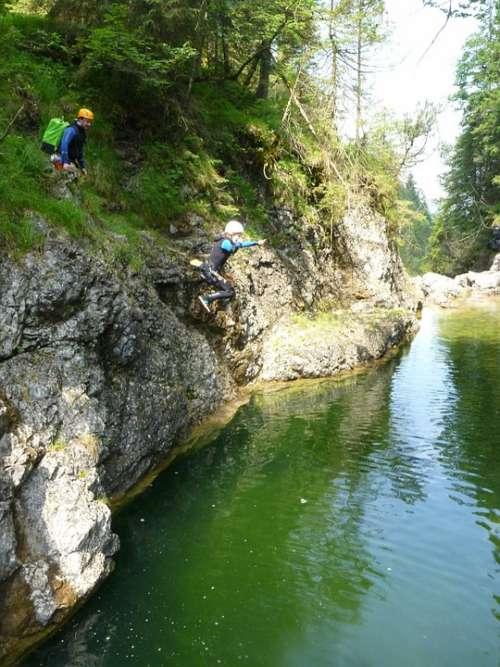 Canyoning Waterfall River Gorge Neoprene