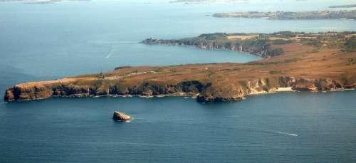 Cap Fréhel Brittany Aerial View Sea