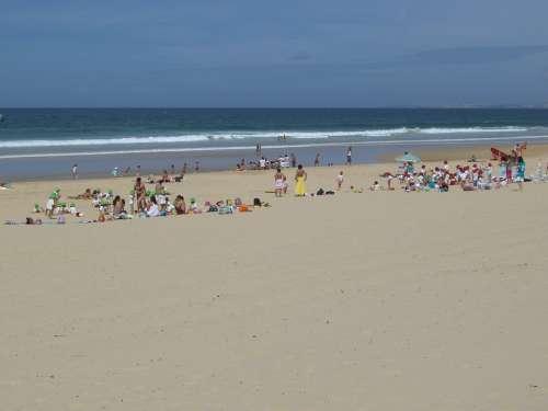 Caparica Coast Beach Portugal