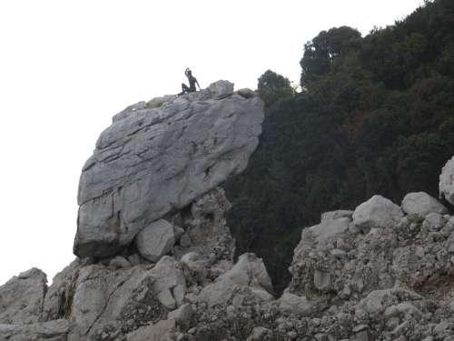 Capri Boy Welcome Stones Rock