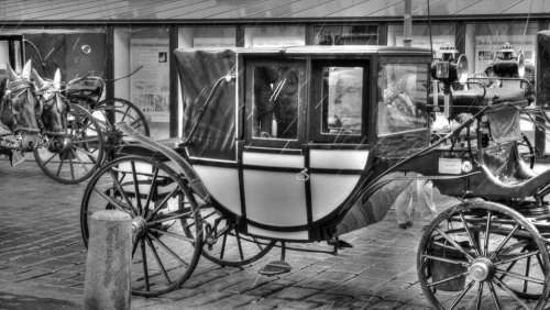 Car Chariot Four Of A Kind Cart Stagecoach