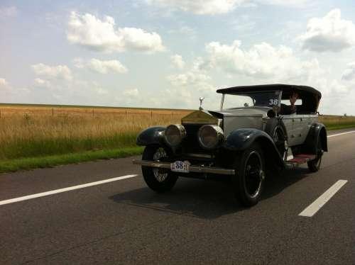 Car Road Automobile Vehicle Unusual
