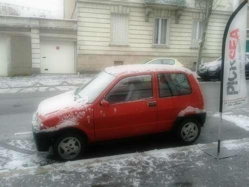 Car Fiat Cinquecento Vehicle Automobile