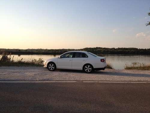 Car Volkswagen Jetta Auto Automobile Vehicle
