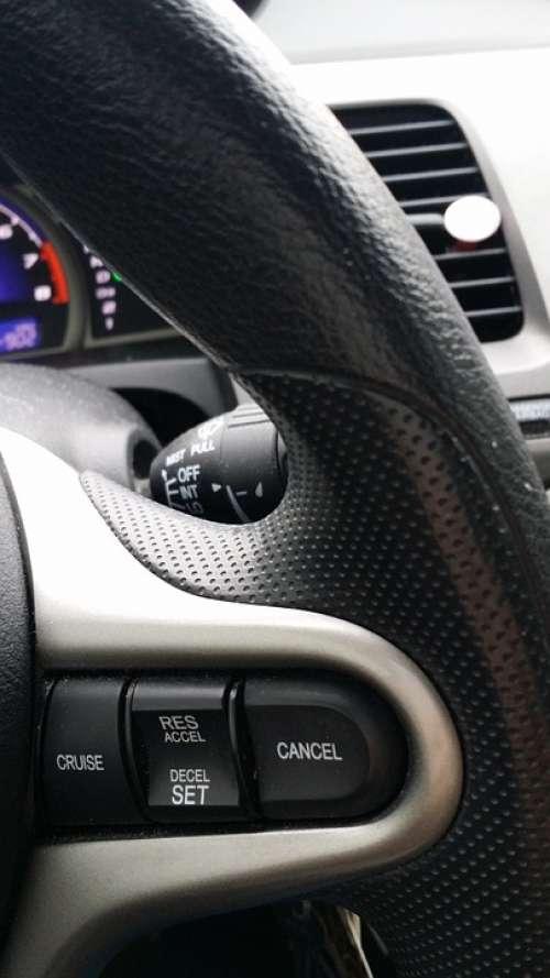 Car Steering Wheel Cruise Honda