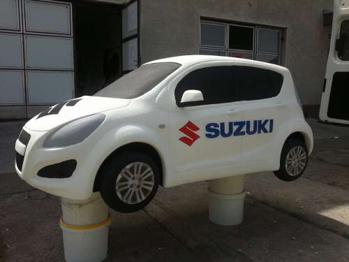 Car Suzuki Model Decoration Polystyrene Unique