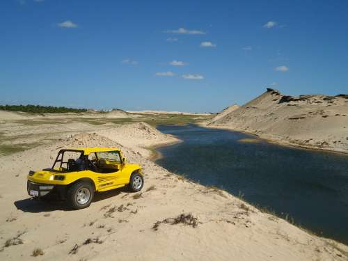 Car Bug Beach Sand Mar Water Bay Nature Summer