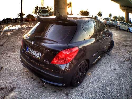 Car Peugeot Black 207 Gt