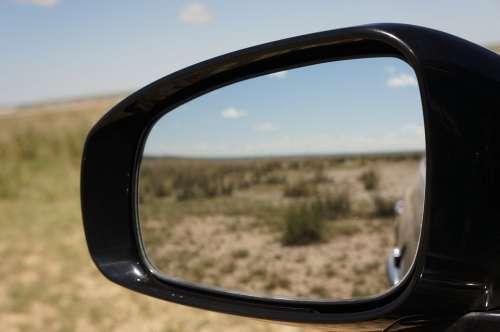 Car Mirror Lens Views