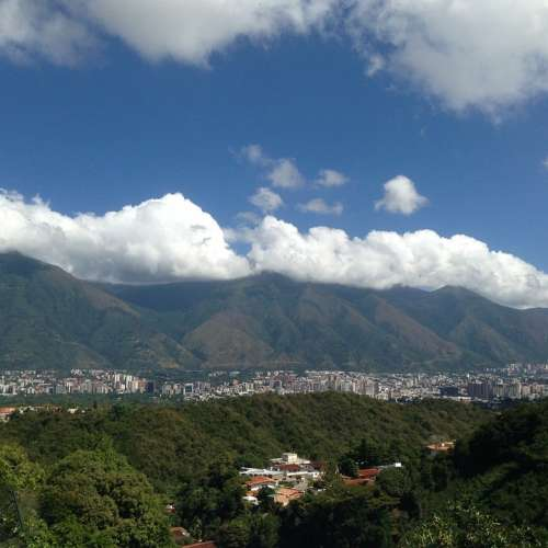 Caracas Avila Sky Green