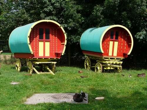 Caravan Gypsy Ireland Vehicle