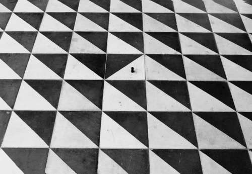 Card Of Chess Black And White Chess Field Hyperbole