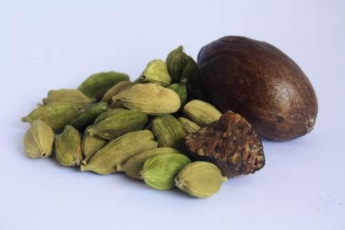 Cardamom Spices Food Ingredient Seasoning Cuisine