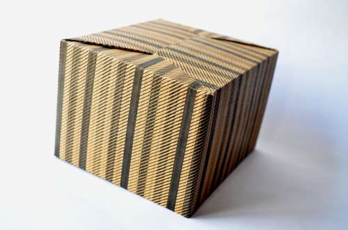Cardboard Box Box Gift Cardboard Package Isolated