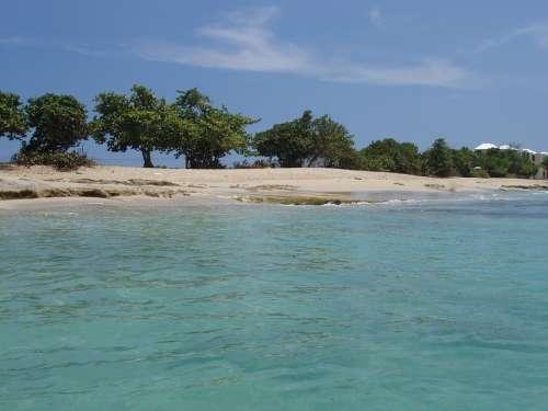 Caribbean Sea St Croix Virgin Islands Ocean Coast
