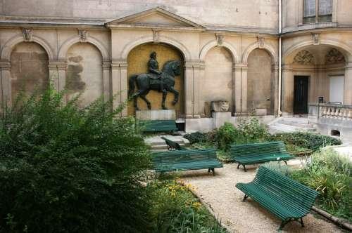 Carnavalet Museum Internal Courtyard Paris