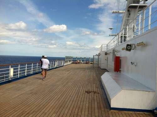 Carnival Cruise Deck Vacation Holidays Cruise Ship