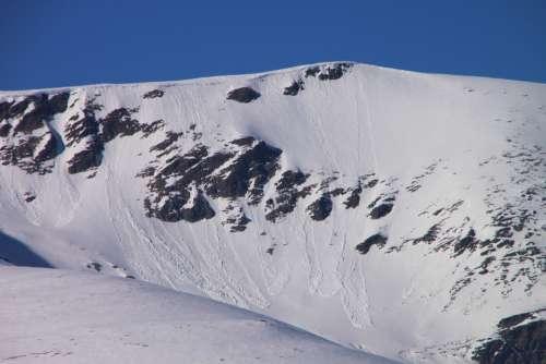 Carpathian Cold Gorj Mountain Peaks Ranca Romania