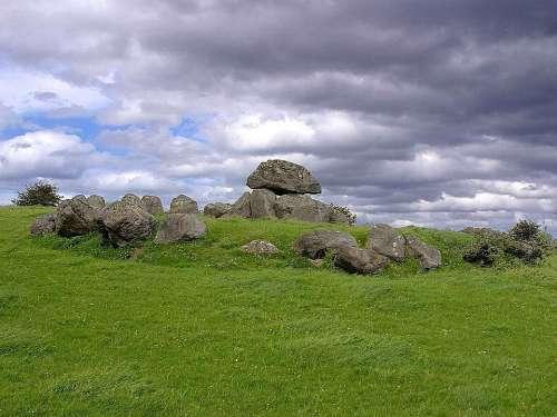 Carrowmore Tombs One Ireland Stones Rock
