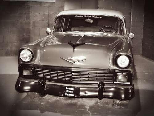 Cars London Museum Classic Motor Vehicle