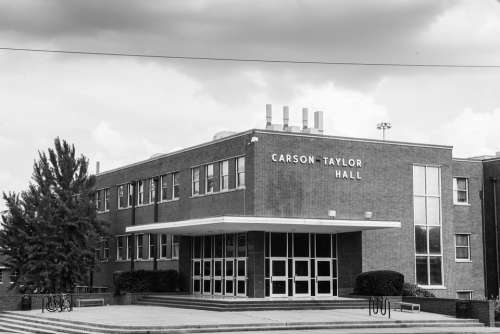Carson Taylor University Education Black And White