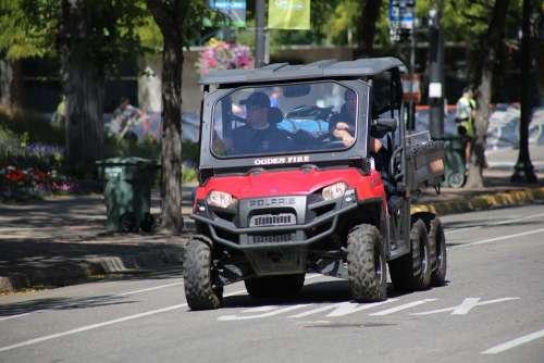 Cart Vehicle Street Small