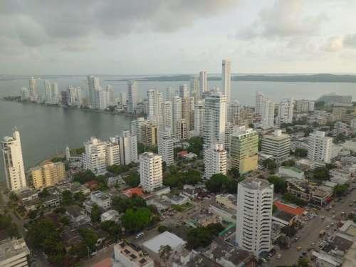 Cartagena Buildings Architecture
