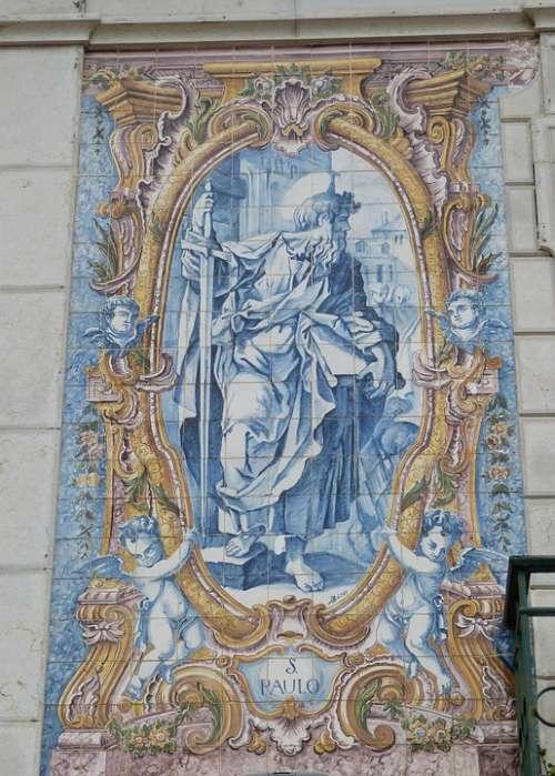 Cascais Image Faith Portugal Apostle Bible Paul