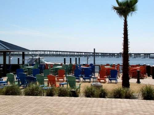 Casino Deck Entertain Beach Chairs Sand Color