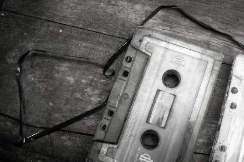 Cassette Audio Song Old Obsolete Vintage Retro