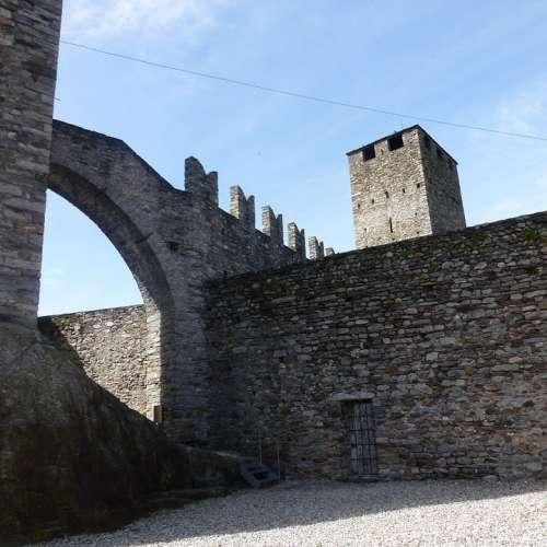Castelgrande Bellinzona Castle Middle Ages