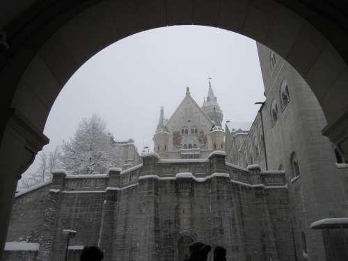 Castle Historical Architecture Entrance Doorway
