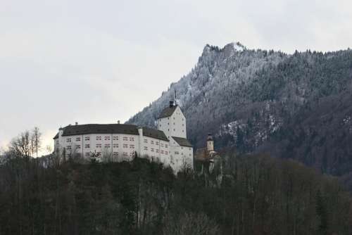 Castle Height Burg Height Hohenaschau Aschau