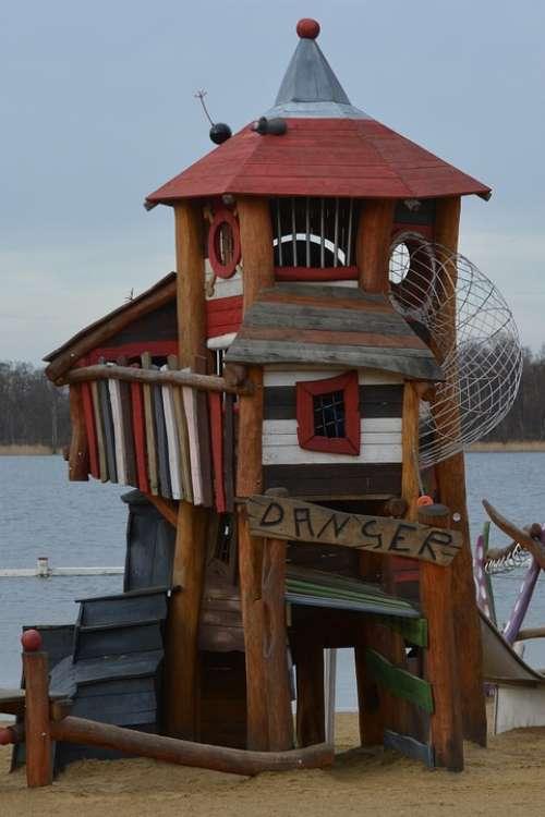 Castle Tower Children'S Playground