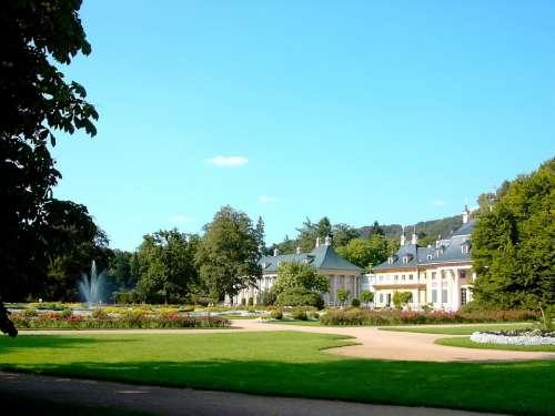 Castle Pillnitz Mountain Palace Pleasure Garden
