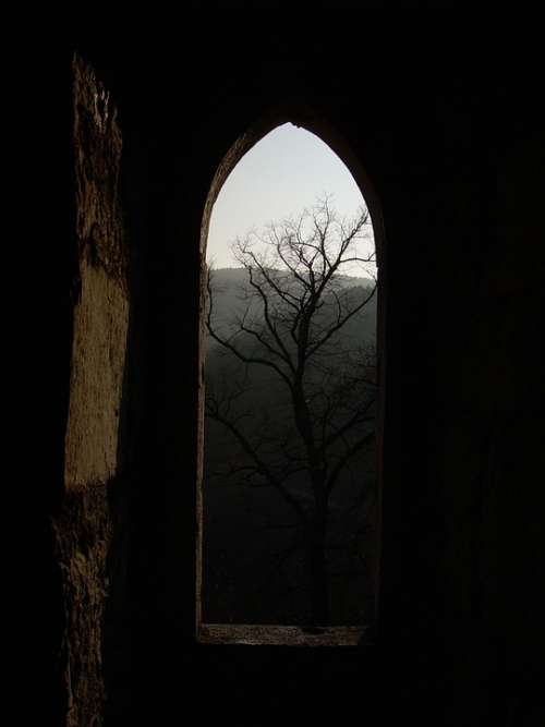 Castle Ruin Window