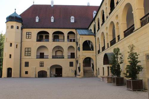 Castle Trausnitz Historically Middle Ages
