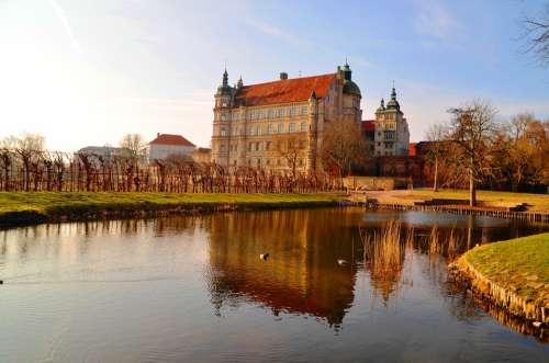 Castle Güstrow Mecklenburg Water