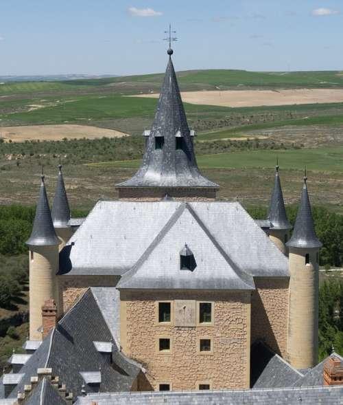 Castle Alcazar Palace Architecture Fortress