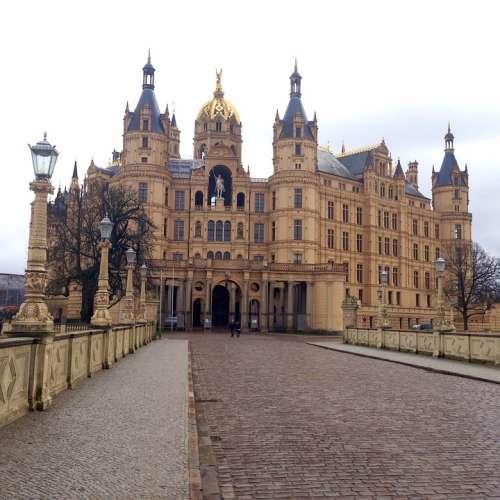 Castle Schwerin Mecklenburg Western Pomerania