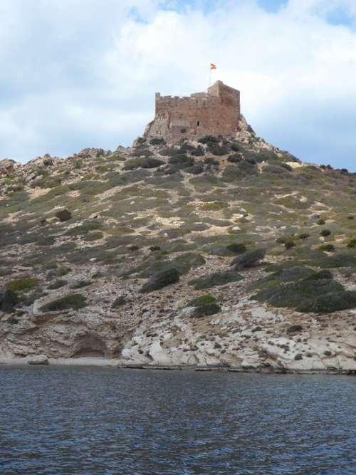 Castle Fortress Coast Guard Architecture