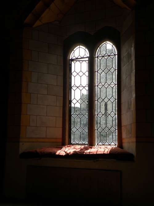 Castle Window Middle Ages