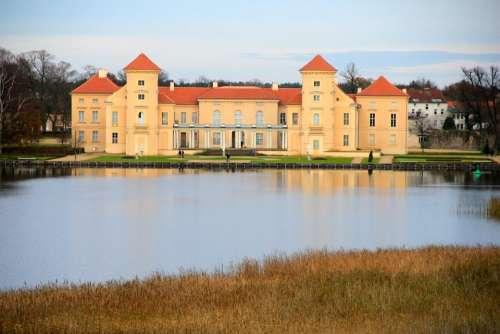 Castle Rheinsberg Lake Brandenburg