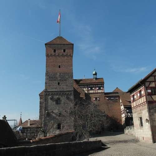 Castle Nuremberg Bavaria Germany