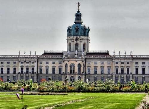 Castle Charlottenburg Back Berlin Places Of Interest
