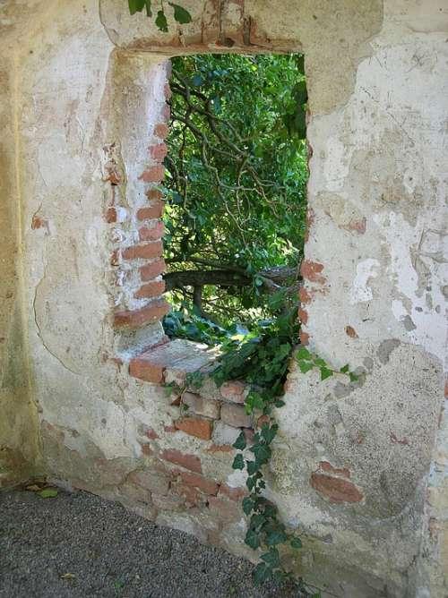Castle Wall Schalaburg Wall Bricks Brick Wall